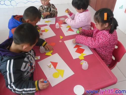 幼儿园手工制作图片