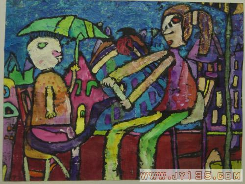 鹤琴幼儿园幼儿绘画作品选登