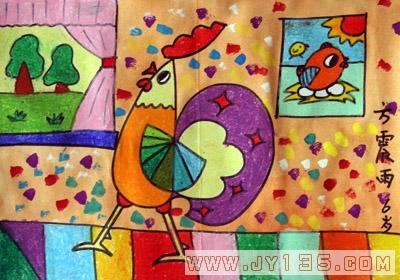 小班幼儿美术欣赏_幼儿绘画作品_幼儿园幼儿绘画作品