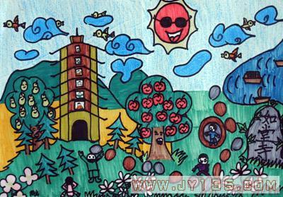 幼儿绘画作品_幼儿园幼儿绘画作品