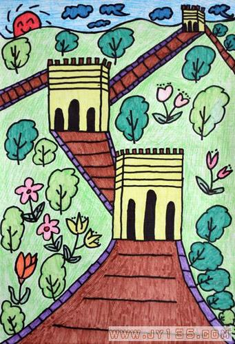 创意美术绘画作品图片展示_创意美术绘画作品相关  幼儿中班油画棒范