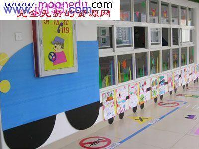 幼儿园中班环境布置作品展示
