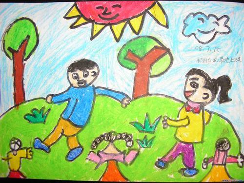 幼儿绘画作品图