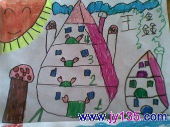 画画未来的房子 (大班)