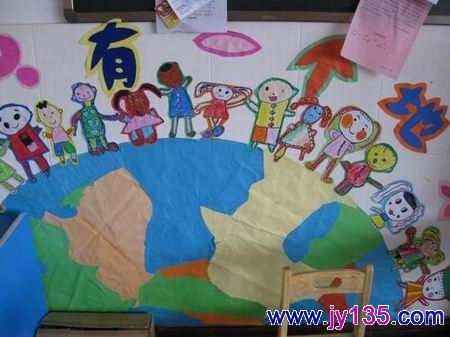 小班室内墙面的创设图片_幼儿园小班教室布置