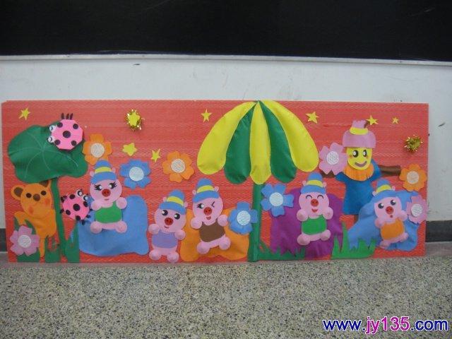 创意幼儿墙艺设计