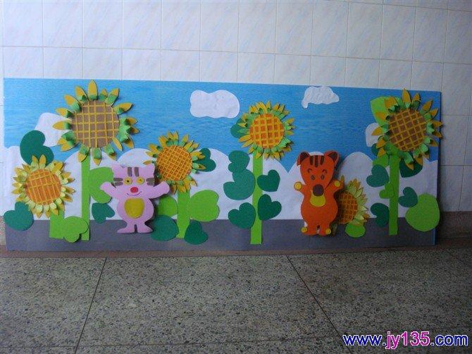 小班主题墙的创设图片6