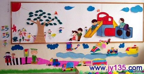 教室布置 幼儿园中班教室布置图片