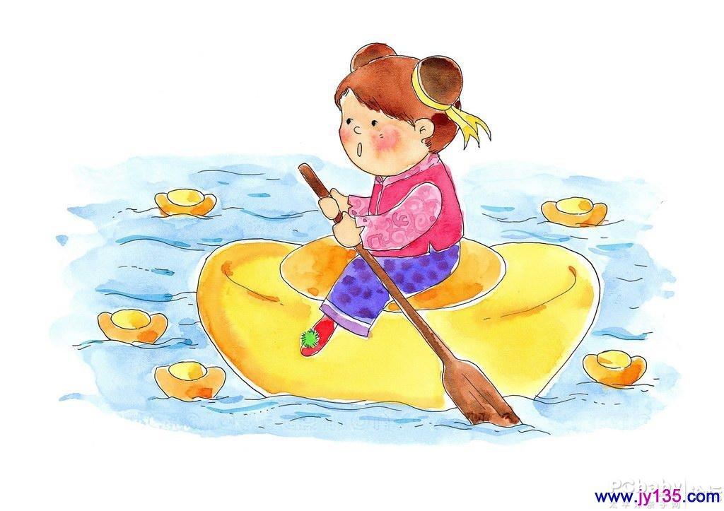 关于过年的画 春节儿童画 迎新春的儿童画