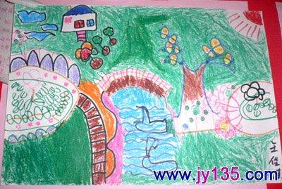 幼教素材 幼儿绘画美工图片          幼儿园粘贴画活动:小鱼