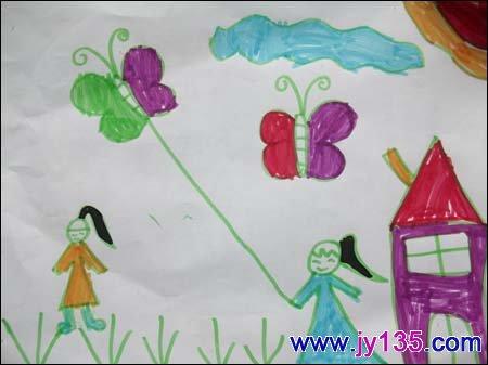 幼兒春天的圖畫簡筆畫春天來了幼兒圖畫作品幼兒圖片