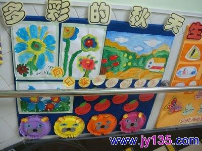 幼儿园大班主题墙设计图片