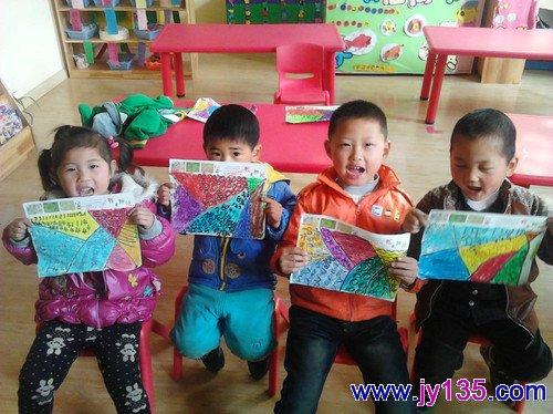 幼儿园中班美术