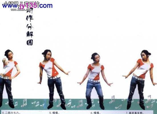 3-4幼儿岁舞蹈教案:《数鸭子》(图)