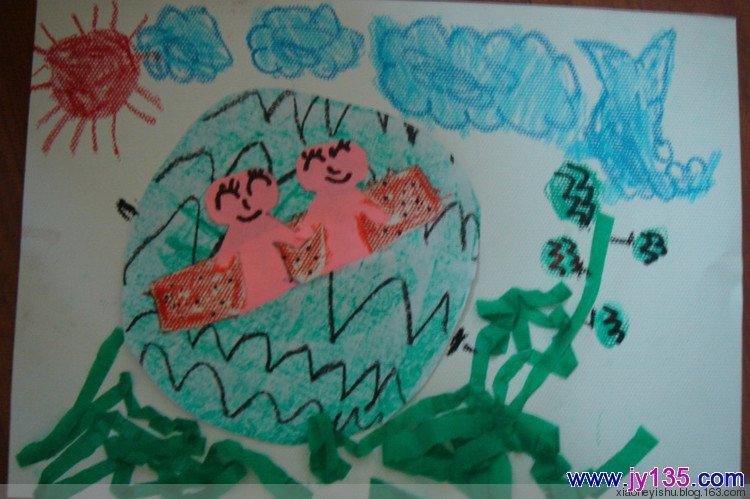 幼儿园中班剪纸图案