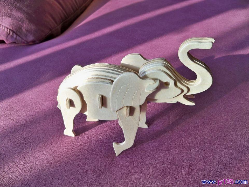 幼儿 手工/幼儿手工 3D大象...