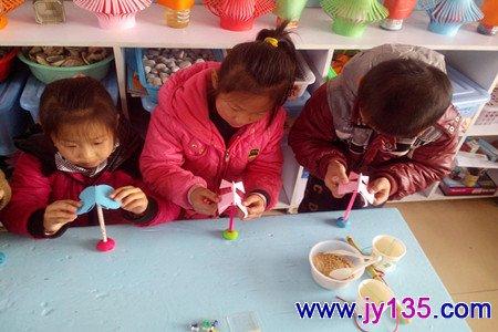 幼儿园科学活动:花枝上的蝴蝶