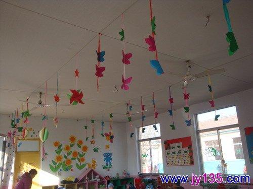 幼儿教师墙面布置设计_幼儿园迎新年环境布置图片_幼儿园环境布置