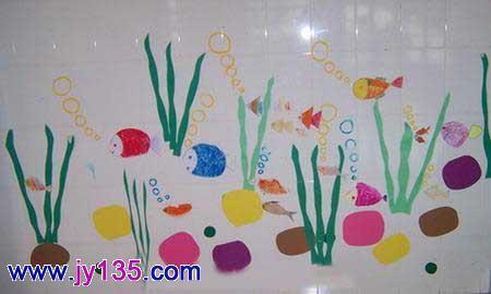 小班主题墙布置_幼儿园小班教室布置