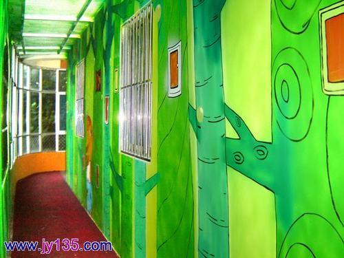 幼儿园环境创设—绿色长廊