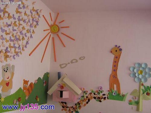 幼儿园室内墙饰布置